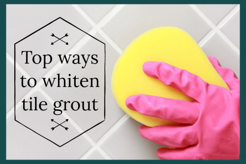 Top ways to whiten tile grout