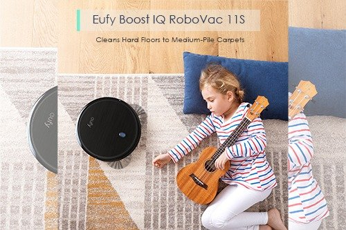 Eufy Boost IQ RoboVac 11S