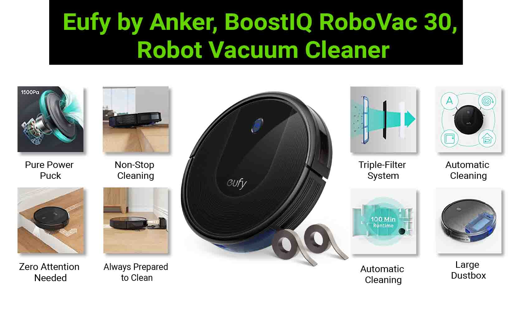 Eufy BoostIQ RoboVac 30 features