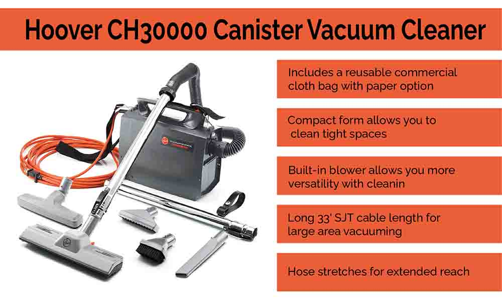 Hoover Canister Vacuum Cleaner