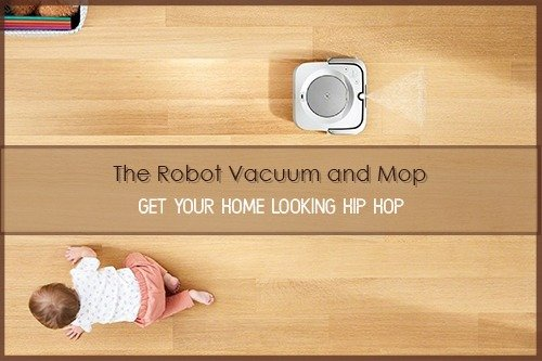 Robot Vacuum and Mop.