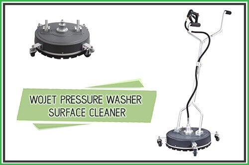 WOJET Pressure Washer Surface Cleaner