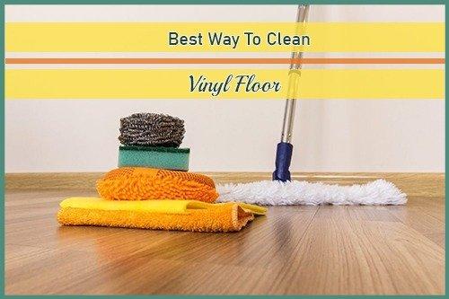 best way to clean vinyl floor