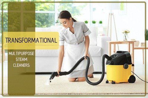 Transformational Multipurpose Steam Cleaner