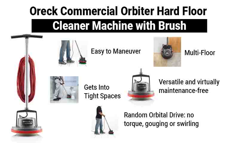 Oreck ORB550 commercial floor machine