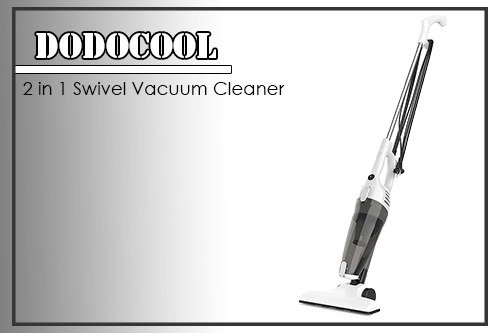 Dodocool 2in1 Swivel Vacuum Cleaner