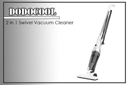 Dodocool 2in1 Swivel Vacuum Cleaner