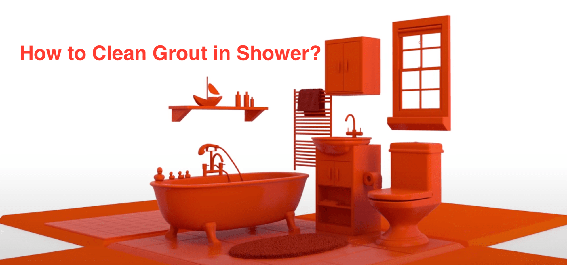 How to Clean Grout in Shower